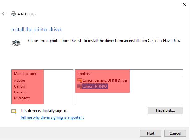 Adding a Network Printer via TCPIP - Screenshot (10)