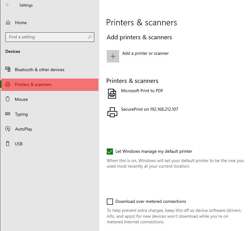 Adding a Network Printer via TCPIP - Screenshot (1a)