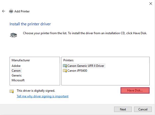 Adding a Network Printer via TCPIP - Screenshot (9)