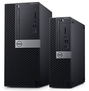 Picture showing a Dell Optiplex5070 Mini Towers