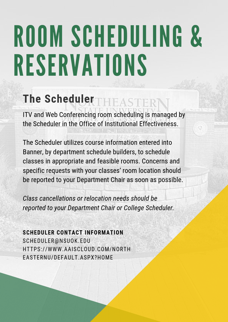 Room Scheduling & Reservations - The Scheduler