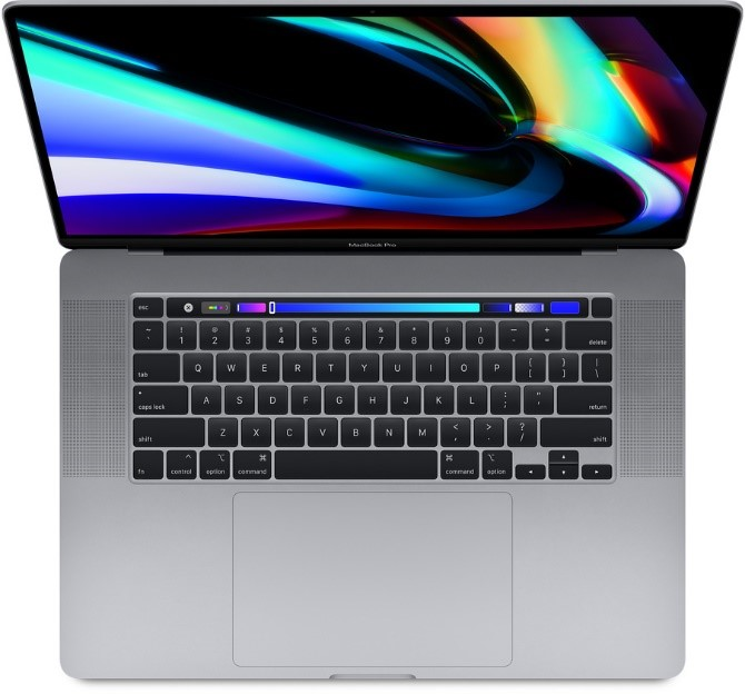 Picture that shows a Macbooks Pro 16-inch