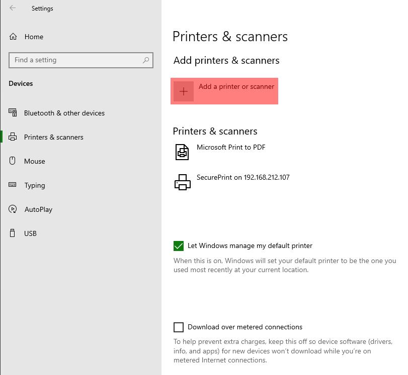 Adding a Network Printer via TCPIP - Screenshot (1b)